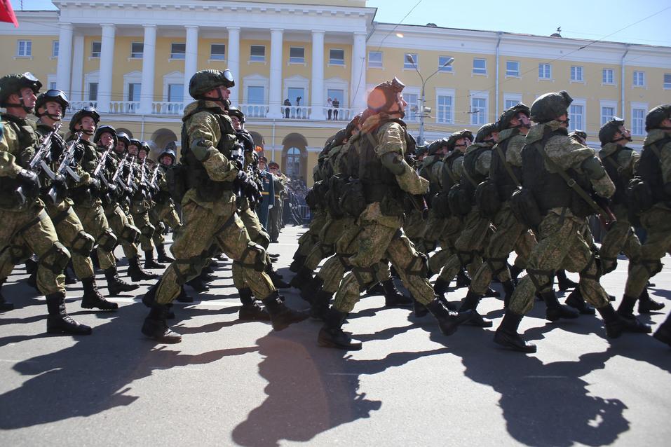 В Нижнем Новгороде прошел парад Победы. ФОТОРЕПОРТАЖ 1