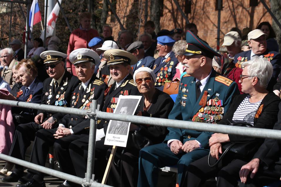 В Нижнем Новгороде прошел парад Победы. ФОТОРЕПОРТАЖ 11