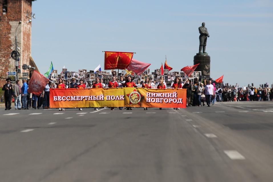 В Нижнем Новгороде прошел парад Победы. ФОТОРЕПОРТАЖ 12