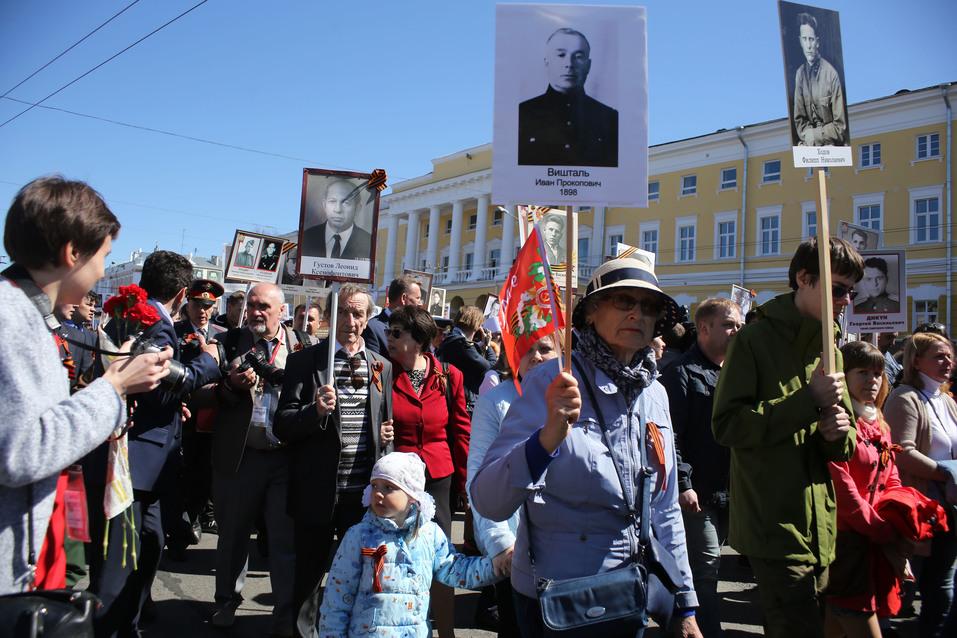 В Нижнем Новгороде прошел парад Победы. ФОТОРЕПОРТАЖ 13
