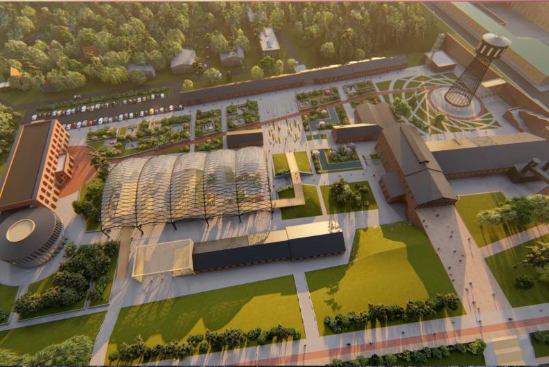 Дайджест DK.RU: индустриальный комплекс, парад Победы и синий забор на Нижневолжской  5