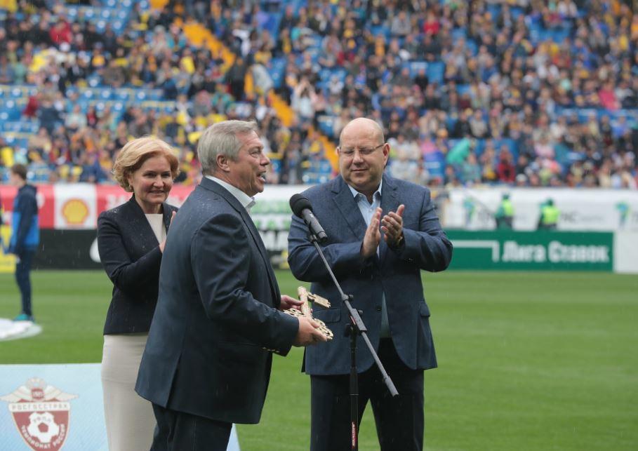 В Ростове состоялся матч открытия стадиона к ЧМ-2018 ФОТО 4