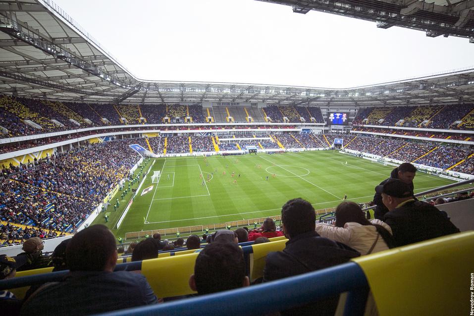 В Ростове состоялся матч открытия стадиона к ЧМ-2018 ФОТО 6