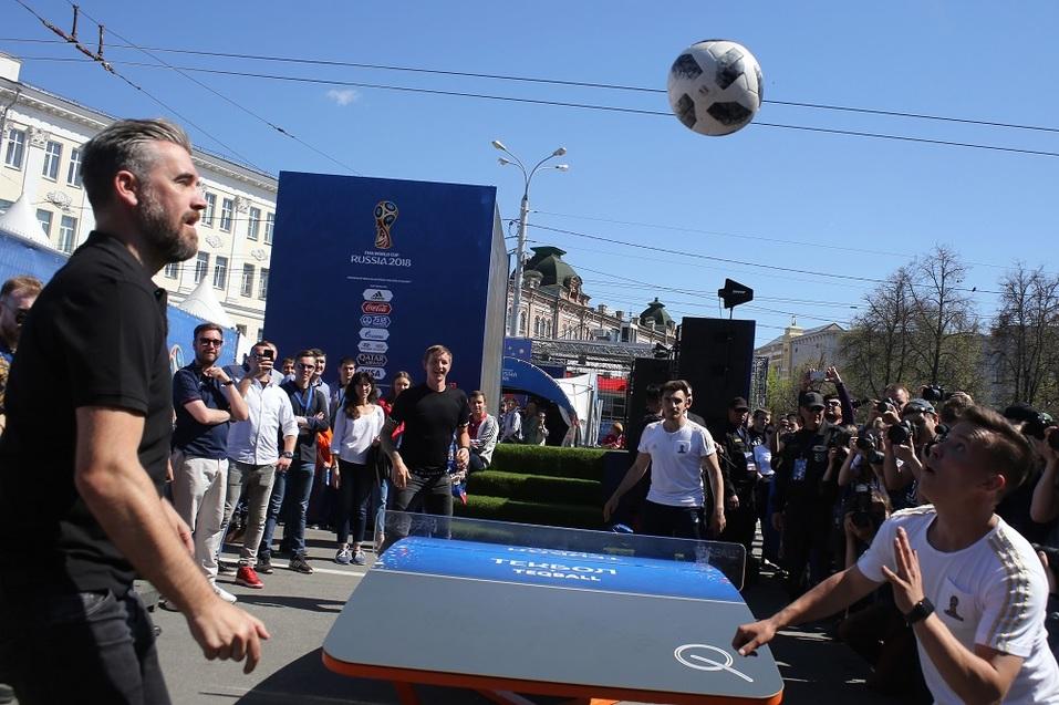 Праздник футбола прошел в Нижнем Новгороде. ФОТОРЕПОРТАЖ 2
