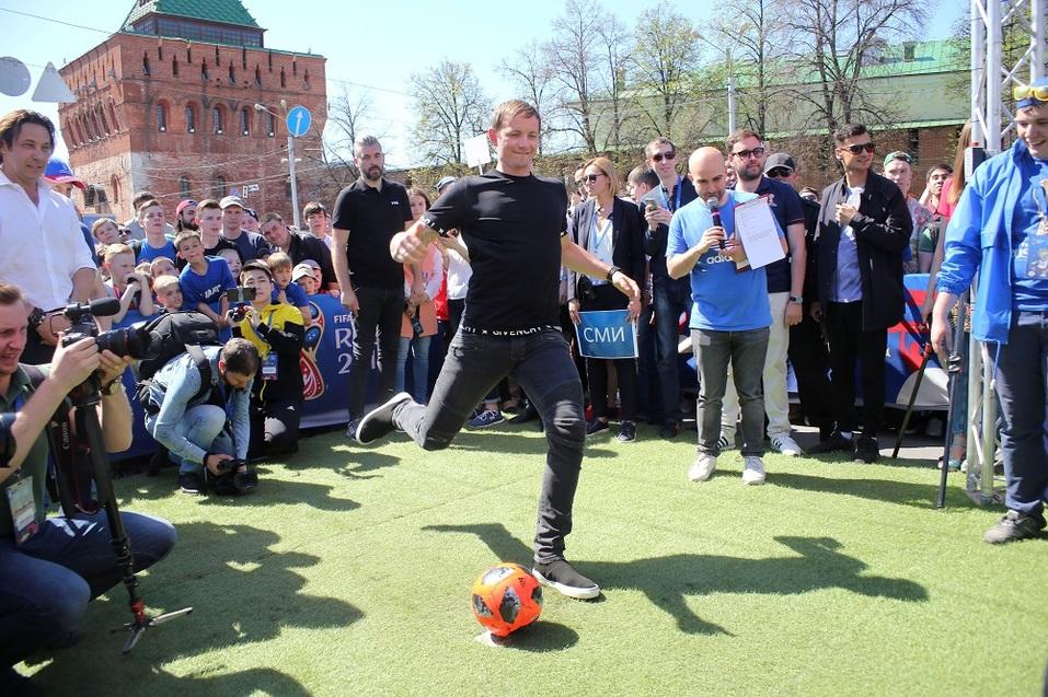 Праздник футбола прошел в Нижнем Новгороде. ФОТОРЕПОРТАЖ 5