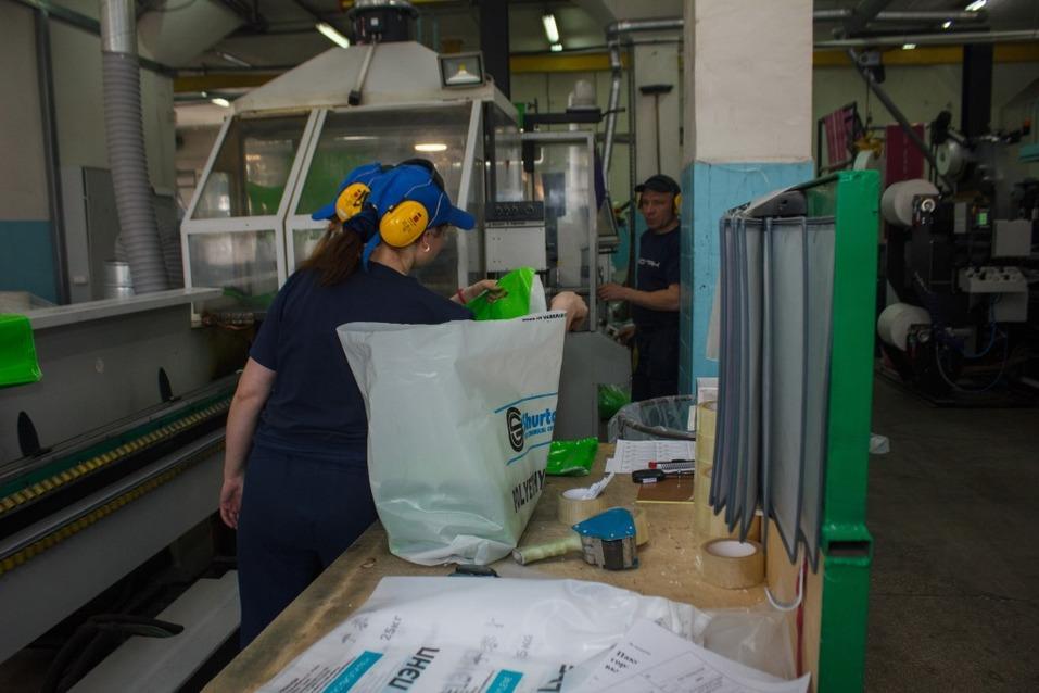 15 тонн пакетов и упаковки в сутки — как это? Экскурсия по предприятию «Нео-Пак» 18
