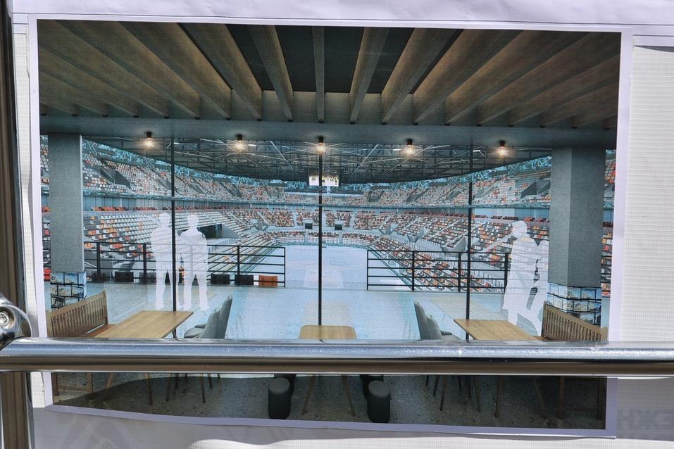 Как будет выглядеть ледовая арена УГМК изнутри? Застройщик показал эскизы 2