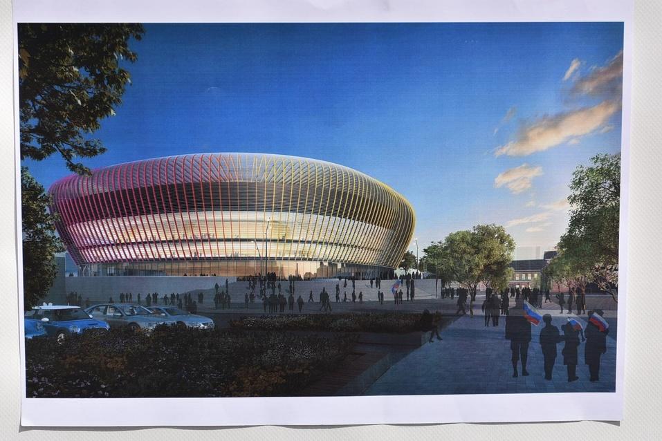 Как будет выглядеть ледовая арена УГМК изнутри? Застройщик показал эскизы 3