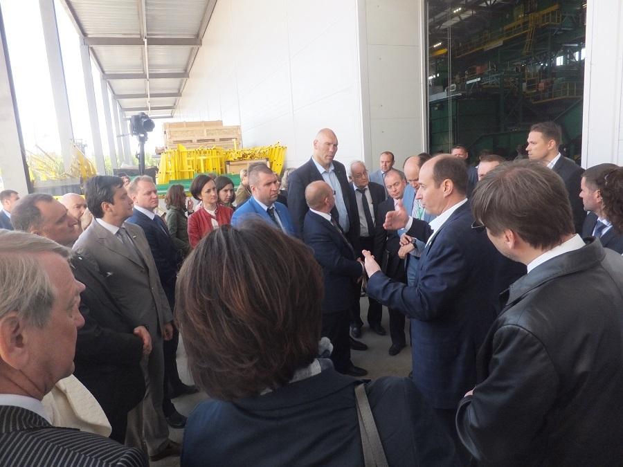 И Валуев там был. В Нижегородской области открыли комплекс по сортировке мусора. ФОТО 1