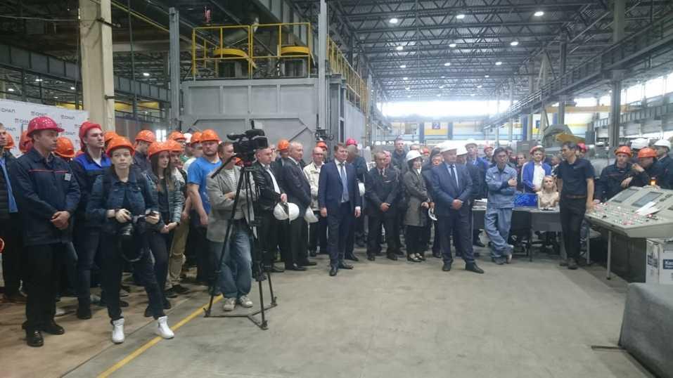 Красноярский завод «СЕГАЛ» (ГК «СИАЛ») запустил новое оборудование мирового стандарта 1