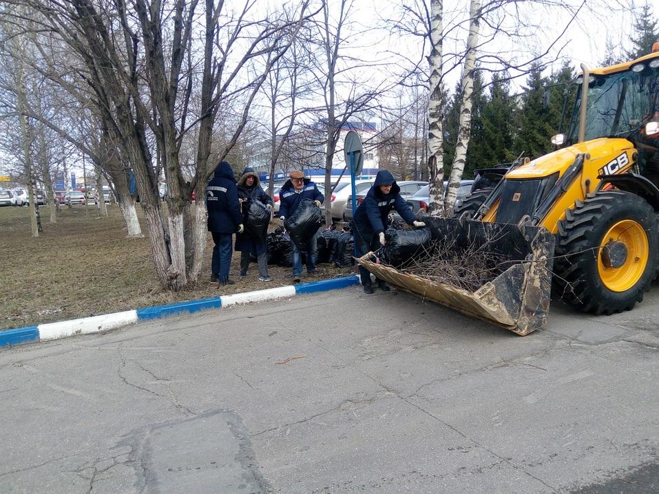 Вывезли 220 куб.м. мусора. Нижегородский водоканал завершил уборку на своих объектах  1