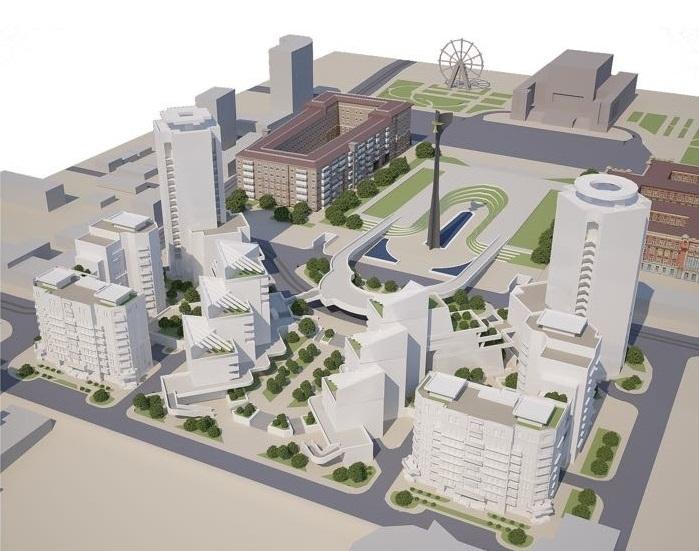 В Ростове за Театральной площадью построят элитный жилой комплекс за 3 млрд руб. 2