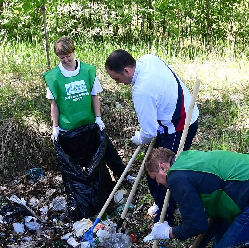 Собрали 120 т мусора. В «Газпроме» прошла акция «Зеленая весна» 1