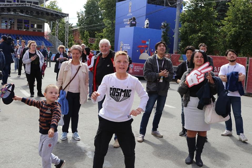 В Нижнем Новгороде начал свою работу Фестиваль болельщиков. ФОТО  4