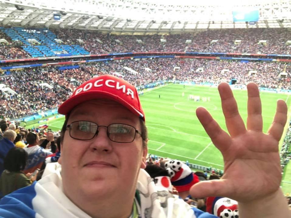 Как красноярцы за сборную России по футболу болели 1