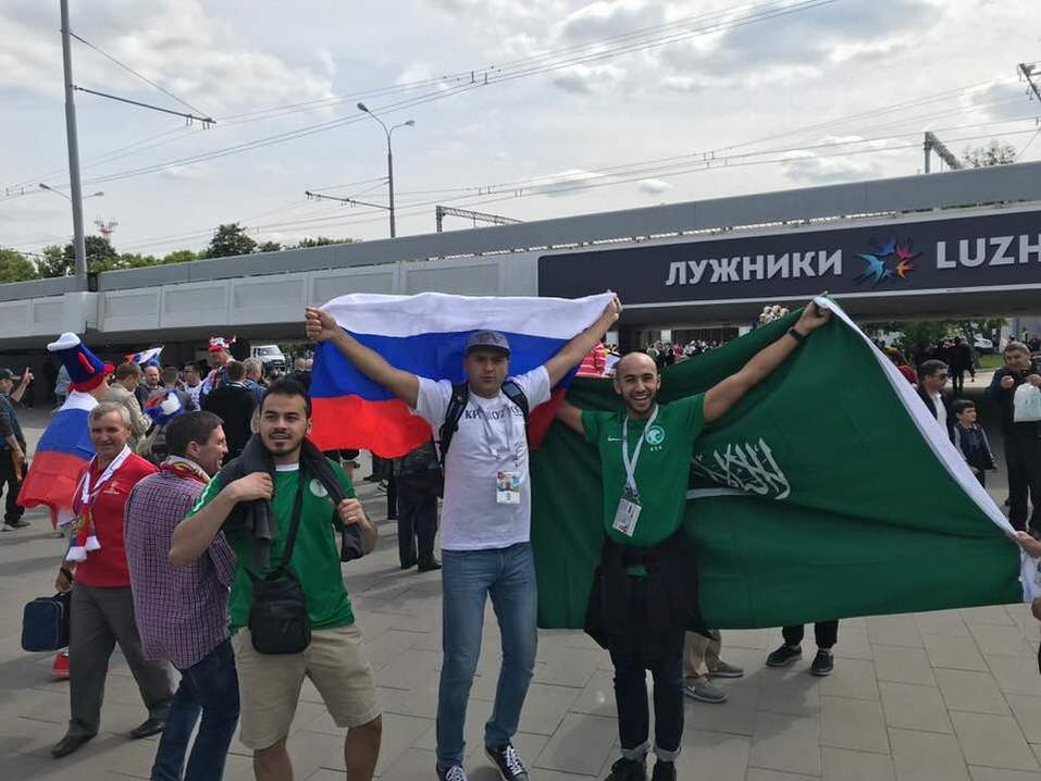 Как красноярцы за сборную России по футболу болели 3