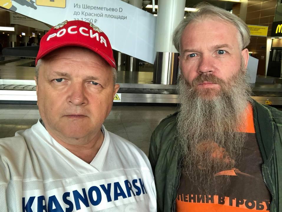 Как красноярцы за сборную России по футболу болели 6