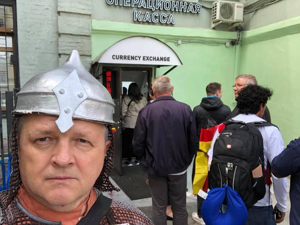 Как красноярцы за сборную России по футболу болели 8