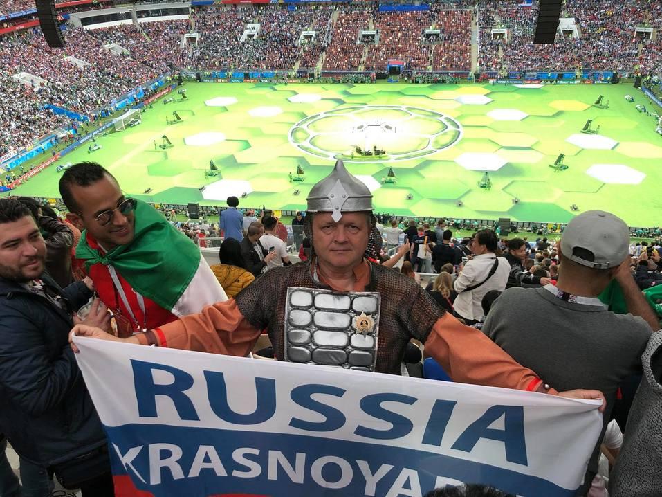 Как красноярцы за сборную России по футболу болели 9