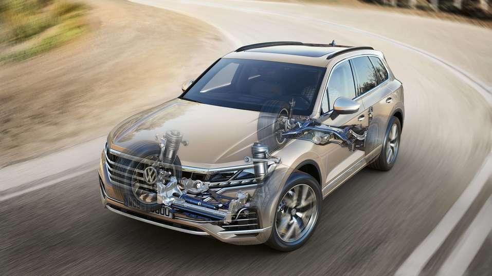 НОВЫЙ Volkswagen Touareg  – Ему есть, чем вас удивить!  1