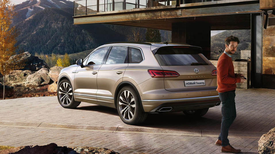 НОВЫЙ Volkswagen Touareg  – Ему есть, чем вас удивить!  4