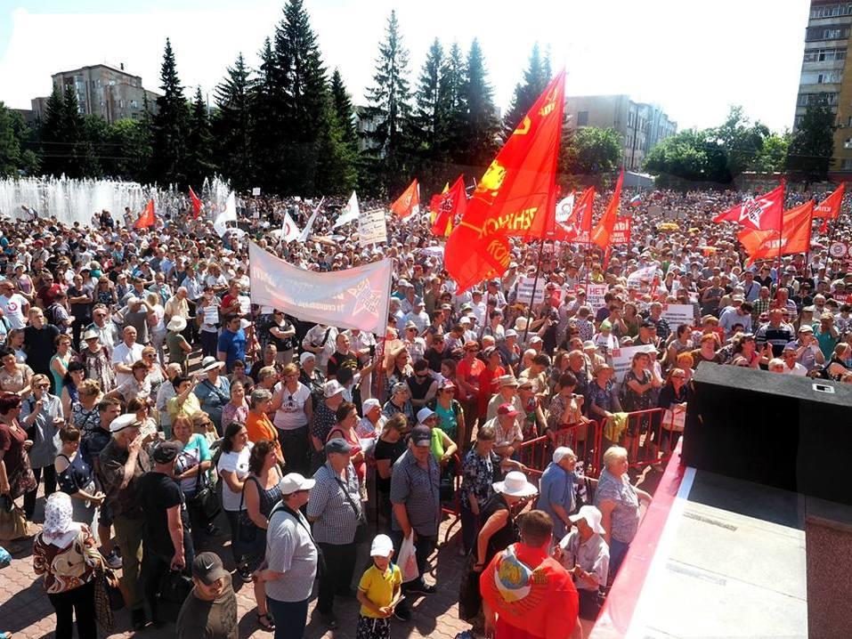 «Помоги государству, сдохни до пенсии». Чем закончились «антипенсионные» митинги на Урале 1