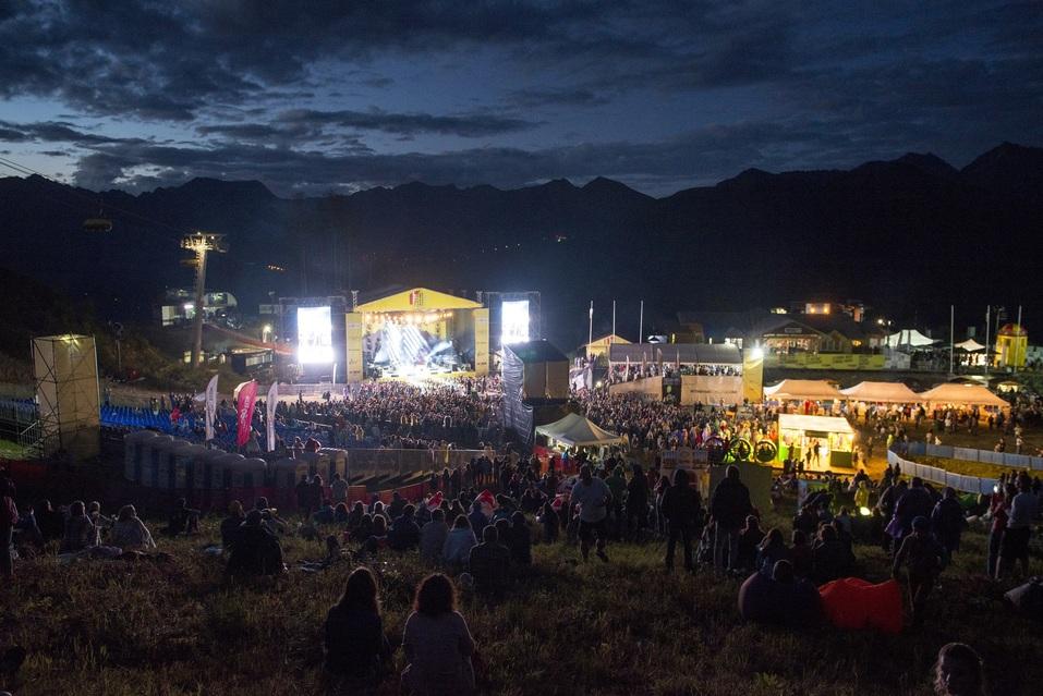 Первый в истории: На горном курорте Роза Хутор прошел музыкальный фестиваль  1