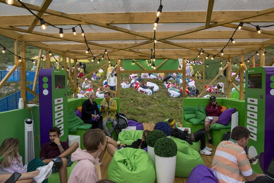 Первый в истории: На горном курорте Роза Хутор прошел музыкальный фестиваль  2