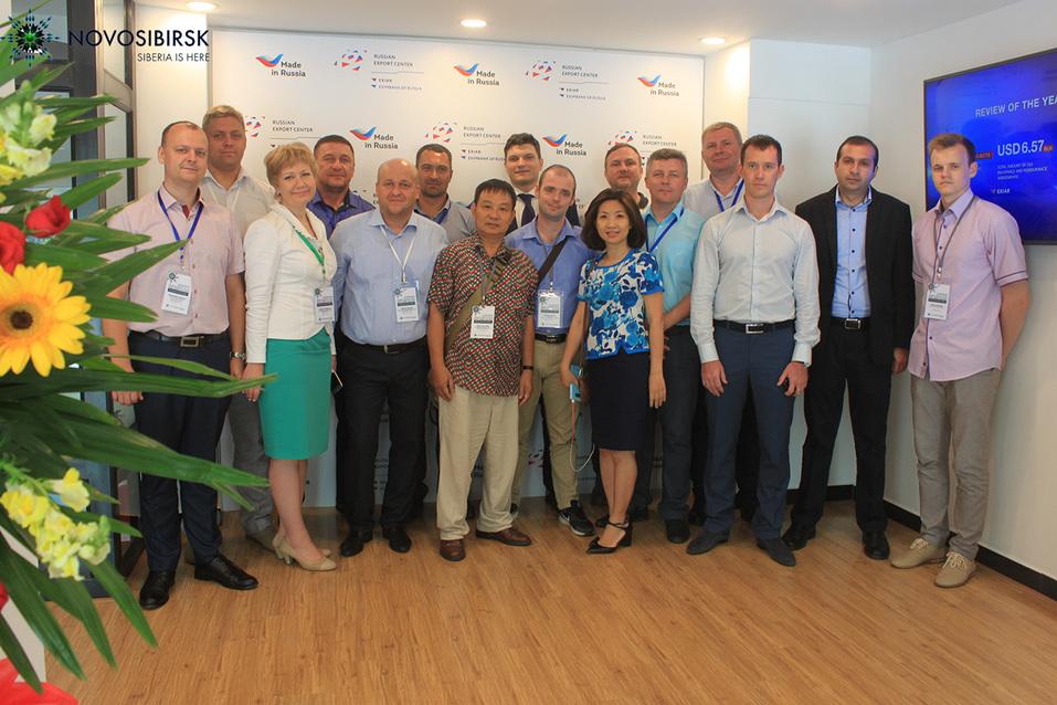 Все на поддержку новосибирских экспортеров!  7