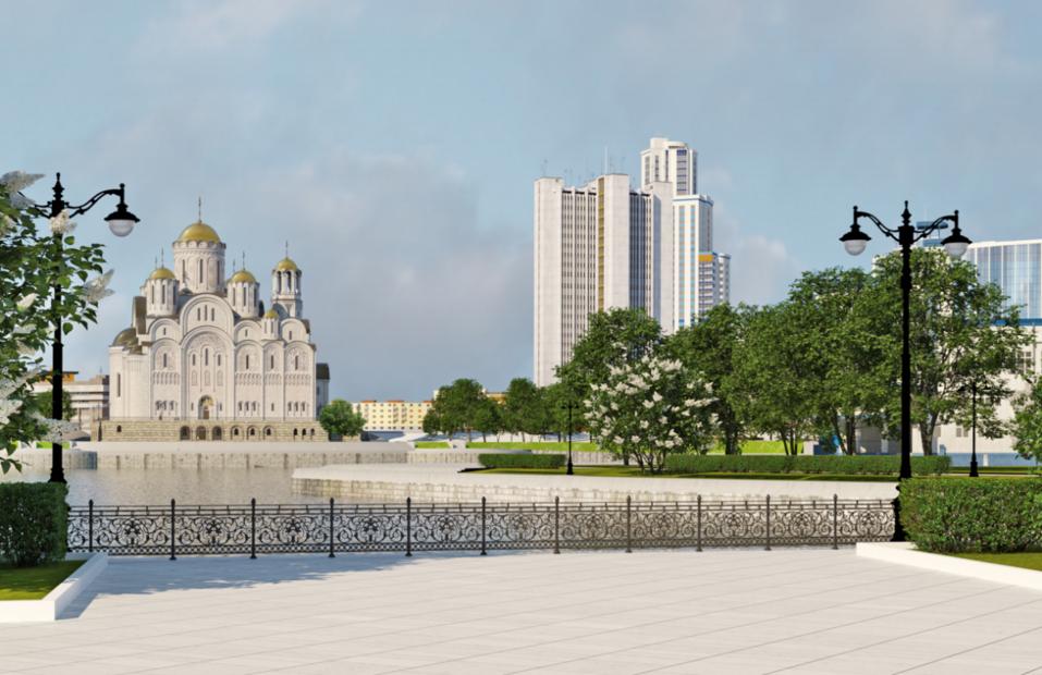 Строительство храма Святой Екатерины начнется в декабре этого года 1