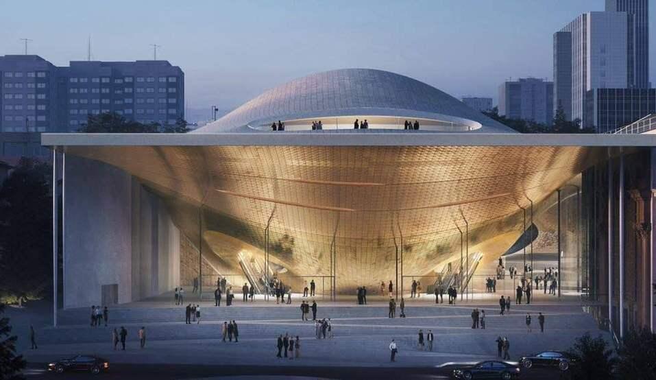 Новое здание Свердловской филармонии построят по проекту архитектурного бюро Захи Хадид 1