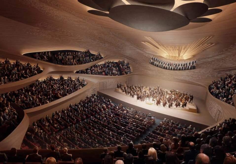 Новое здание Свердловской филармонии построят по проекту архитектурного бюро Захи Хадид 2