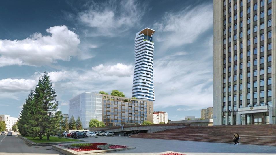 Самое престижное расположение в городе. УГМК построит огромную жилую башню на набережной 1
