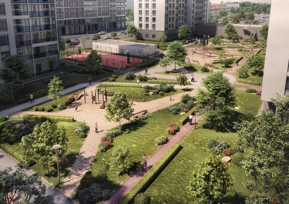 Отдых рядом с домом: как в Екатеринбурге строят квартал с парком, кораблем и набережной 2