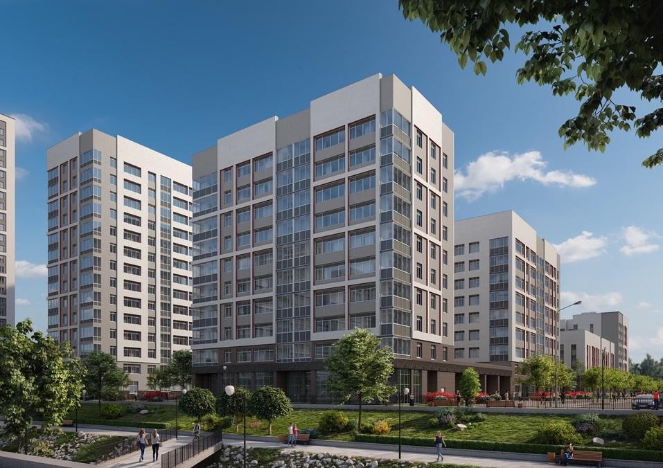 Отдых рядом с домом: как в Екатеринбурге строят квартал с парком, кораблем и набережной 1