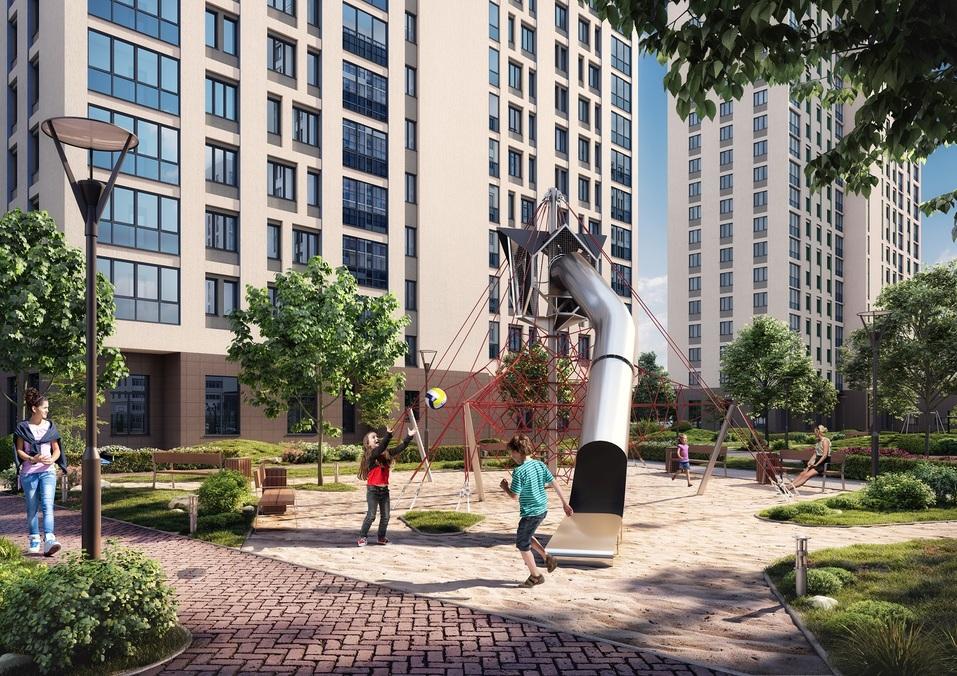 Отдых рядом с домом: как в Екатеринбурге строят квартал с парком, кораблем и набережной 5