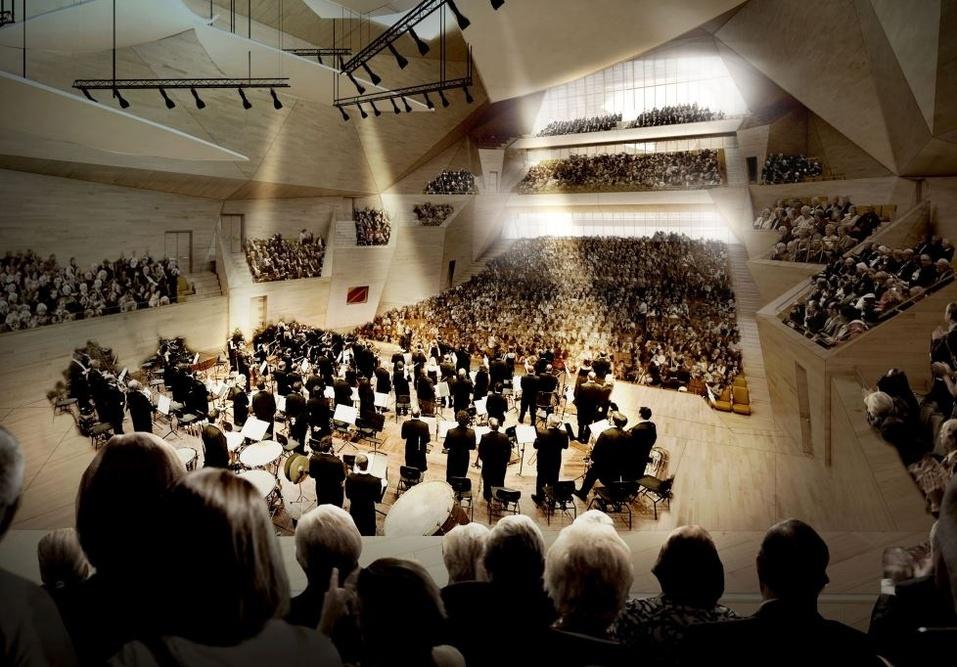 Михаил Вяткин: Здания наподобие филармонического зала от Захи Хадид — архитектурные фрики 2
