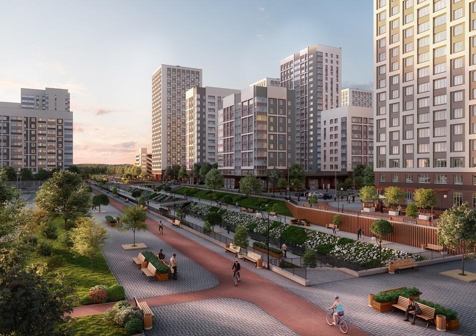 Отдых рядом с домом: как в Екатеринбурге строят квартал с парком, кораблем и набережной 3