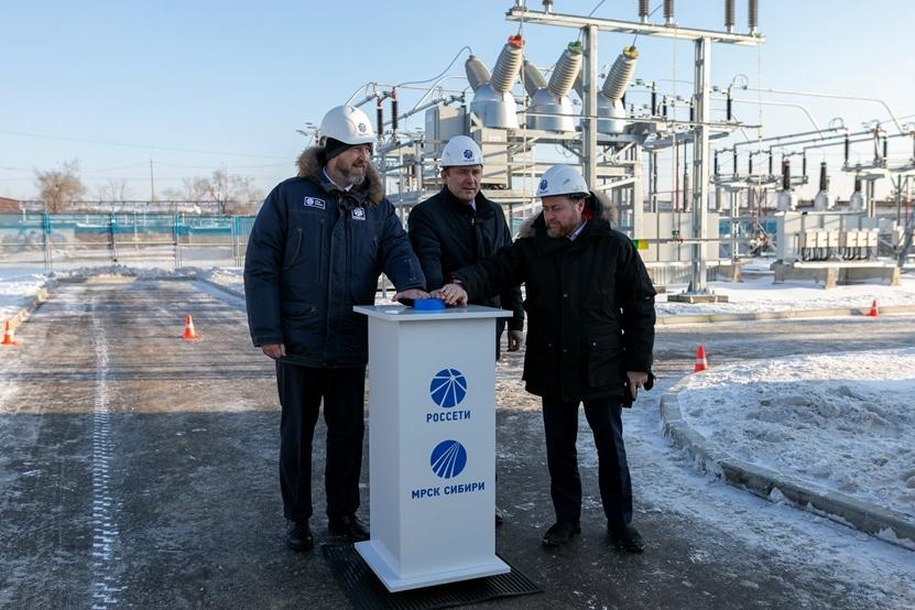 После реконструкции запущена подстанция «Юбилейная» в Красноярске 2