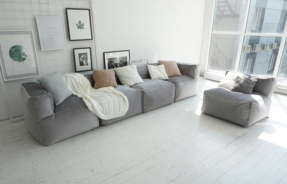 Меняй обстановку с модульным бескаркасным диваном «Ай Диво» хоть каждый час! 3