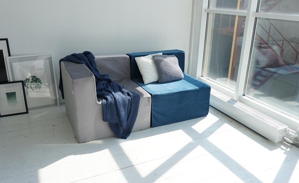 Меняй обстановку с модульным бескаркасным диваном «Ай Диво» хоть каждый час! 7