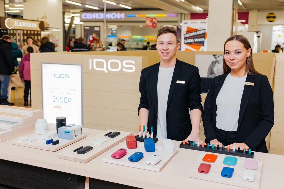 В Челябинске открылся первый фирменный магазин IQOS 9