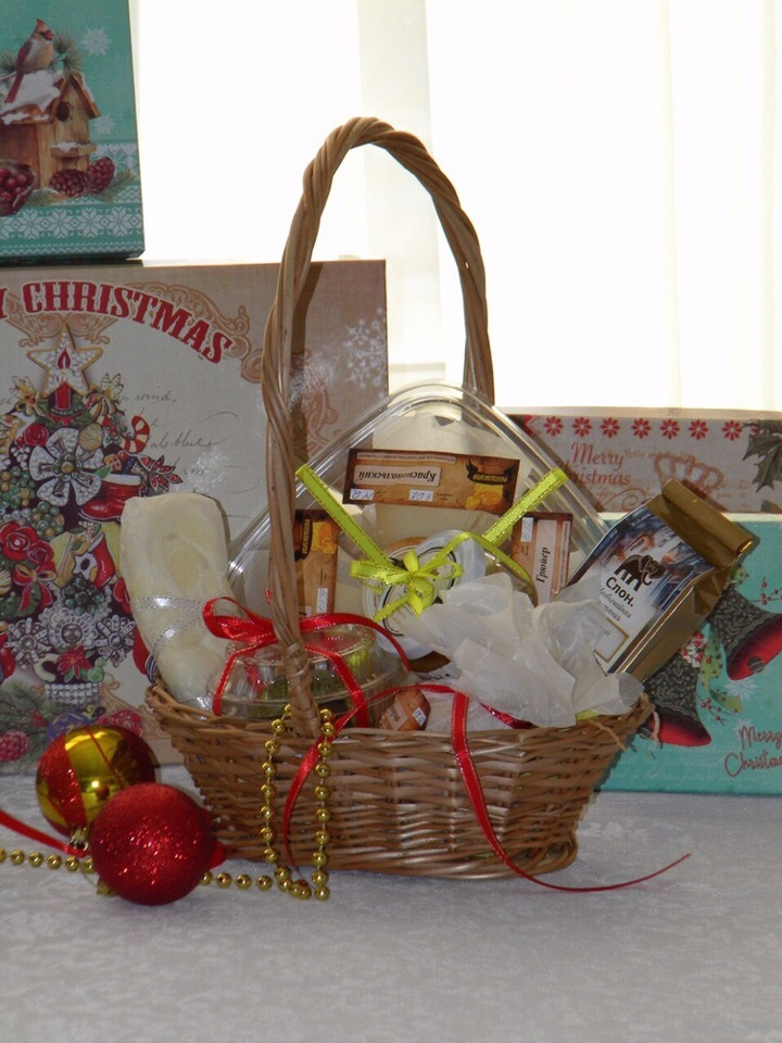 Сырная корзинка из «Красного поля»: подарок с европейским вкусом  8