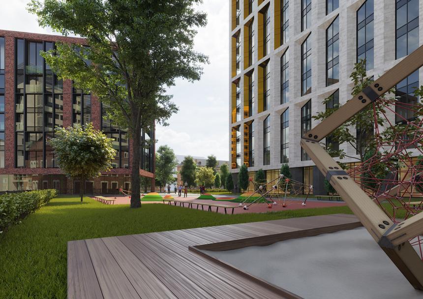 В новый клубный дом в центре города жильцов заманивают бассейном и трехметровыми потолками 3