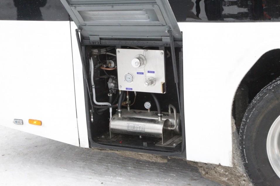 Сделано для Челябинска: горожан будет возить экологически чистый автобус с Wi-Fi  3