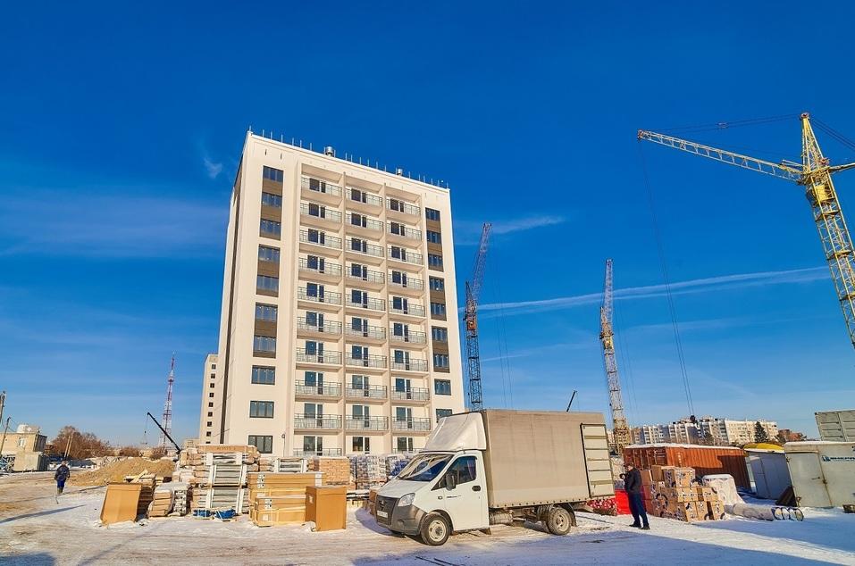 Сдадут в 2019-м: центральный район Челябинска прирастает ещё одним жилым комплексом 5