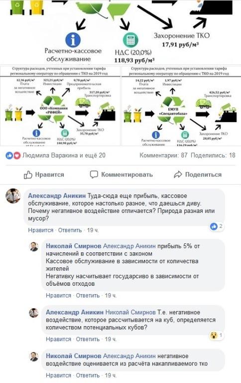 Красота! Министр в картинках объяснил, из чего складывается «мусорный налог» на Урале 4