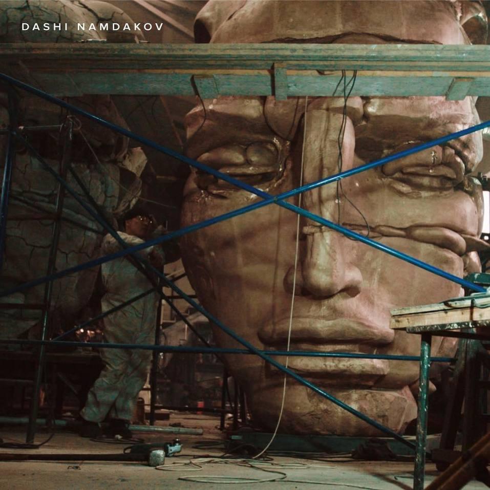 Сегодня торжественное открытие в Красноярске скульптуры Даши Намдакова «Трансформация» 2