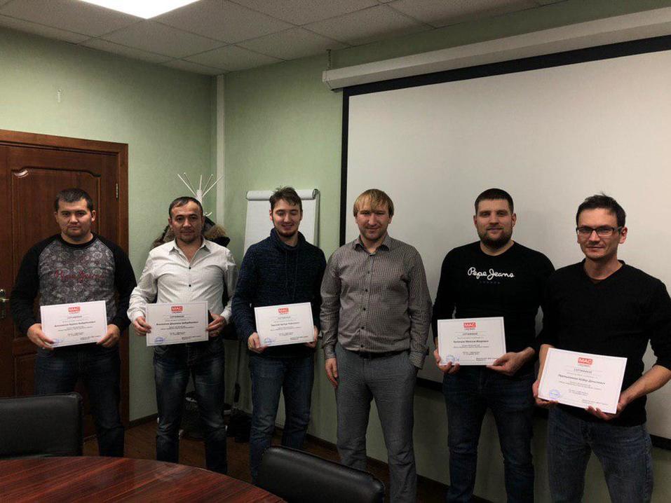 ООО «МАС-Сервис» проводит обучающие курсы для инженеров компаний по цементированию скважин 3