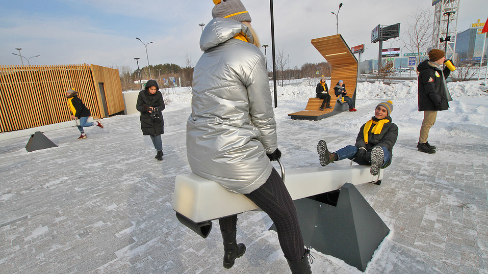 Екатеринбургская «МЕГА» открыла вместо парковки парк за полмиллиарда. Что там особенного? 8